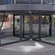 Portas de Vidro Rotativas – Giratórias